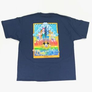 Disney California Adventure Mens World of Color